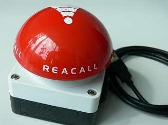 reacall 3.0 Client Einzelplatzlizenz mit Buzzer